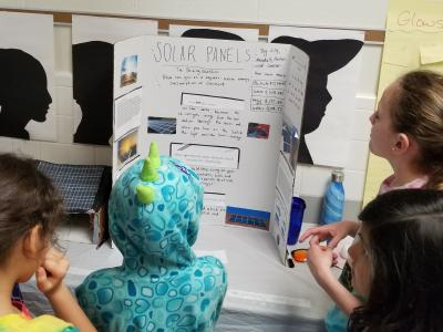 4th graders project